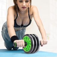 健腹轮收腹锻炼健身器材运动收腹肌男女滚轮腹肌训练器 三轮静音防滑款+回弹绳送跪垫