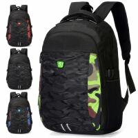 双肩包男士旅游旅行背包男女大容量高中初中大学生书包商务电脑包