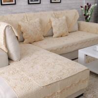 ???沙发垫纯棉布艺坐垫四季通用全棉防滑夏季欧式简约实木沙发套巾罩