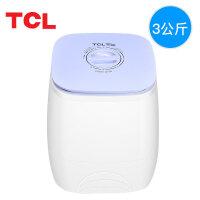 TCL 洗衣机半自动 XPB30-Q100 宝宝婴儿迷你小型洗衣机 全半自动赠送沥水桶