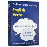 柯林斯轻松学英语动词 英文原版词典 Easy Learning English Verbs 英语动词和语法 英文版字典