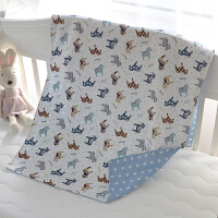 儿童垫被套纯棉全包拉链定做幼儿园卡通褥子套婴儿床垫套 保护套