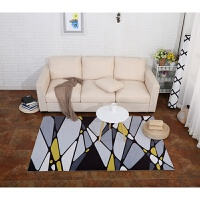 现代风格几何图案北欧地毯客厅沙发茶几卧室满铺长方形家用可水洗