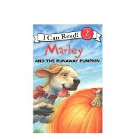 进口原版 Marley: Marley and the Runaway Pumpkin