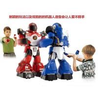 高乐遥控对战双打机器人 智能儿童电动玩具男孩礼物