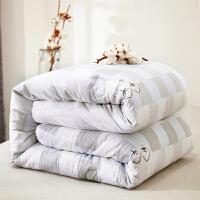 ???纯棉花被春秋被双人空调薄被子全棉花单人加厚棉絮冬被芯