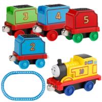 托马斯小火车头玩具套装组合合金回力磁性迷你男孩儿童拖马斯模型