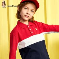 【2件5折:129元】暇步士童装男童POLO衫2020春装新款儿童上衣洋气中大童翻领衫