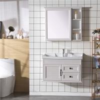 碳纤维浴室柜组合简约现代小户型卫生间洗脸盆洗手盆柜挂墙式面盆