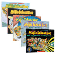 The magic school bus 神奇校车6本套装 全美受欢迎的儿童自然科学图书 是美国国家图书馆推荐给所有学龄前儿童和小学生的课外自然科普读物
