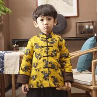 宝宝唐装男冬季儿童汉服男童周岁礼服冬装婴儿中国风童装棉袄