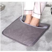 插电暖脚宝电热垫加坐垫热 可拆洗暖脚垫电暖鞋办公室暖脚器