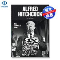 英文原版 希区柯克电影艺术集 精装 Alfred Hitchcock.the Complete Films 悬疑大师 画