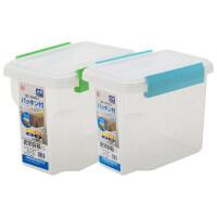 【支持礼品卡】爱丽思IRIS冰箱内密封食品盒保鲜盒冷藏收纳盒子长方形水果盒 jx9