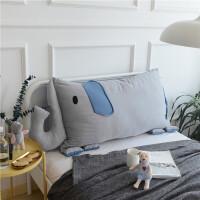 ins抱枕靠垫儿童可爱床头沙发靠垫棉榻榻/软包可拆洗靠枕床靠