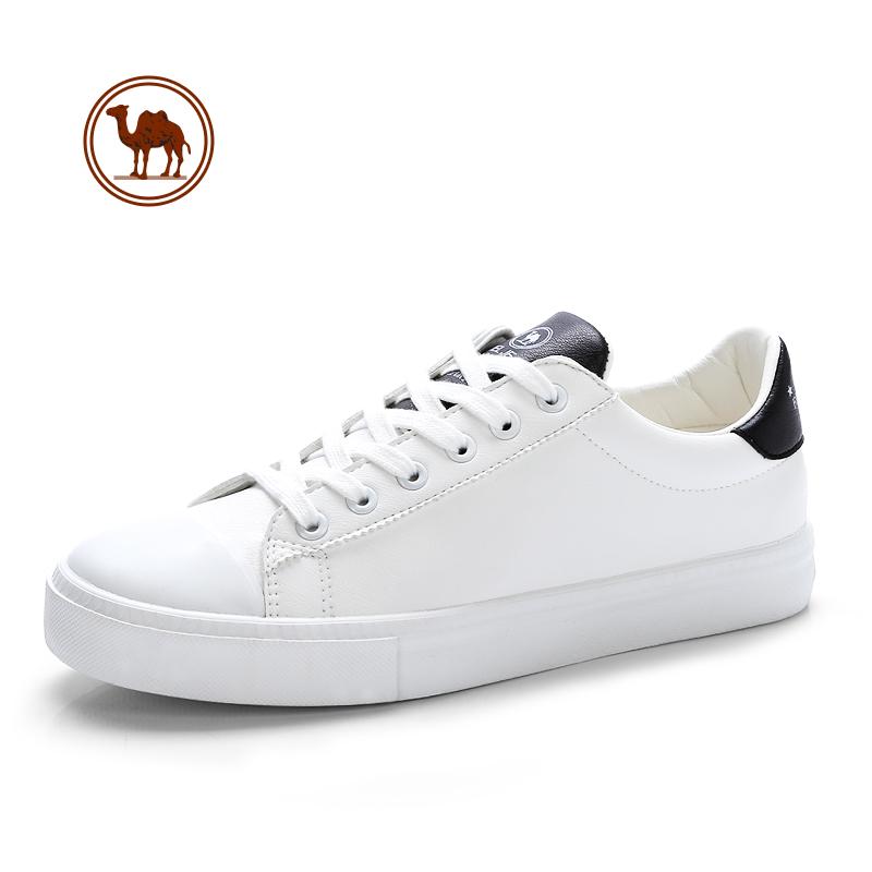 骆驼牌男鞋 2018春季新款男士潮流韩版运动休闲鞋小白鞋男板鞋