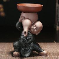 【支持礼品卡】紫砂茶漏茶滤和尚沙弥滤茶器创意陶瓷泡茶过滤器创意茶具配件 jn0