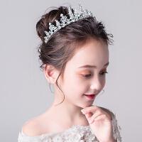 儿童公主裙头饰生日演出配饰童话婚礼大皇冠发饰女童发箍装饰王冠