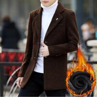 休闲西装男秋冬新款青年西服薄款修身男士单西外套男装加绒小西装 加绒