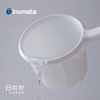 inomata日本进口家用水勺厨房加厚塑料舀水瓢浴室宝宝洗澡洗发勺