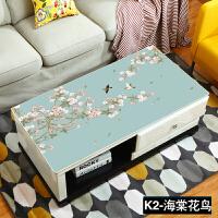 桌布防水防烫防油免洗书桌电脑桌布北欧式现代简约pvc茶几垫