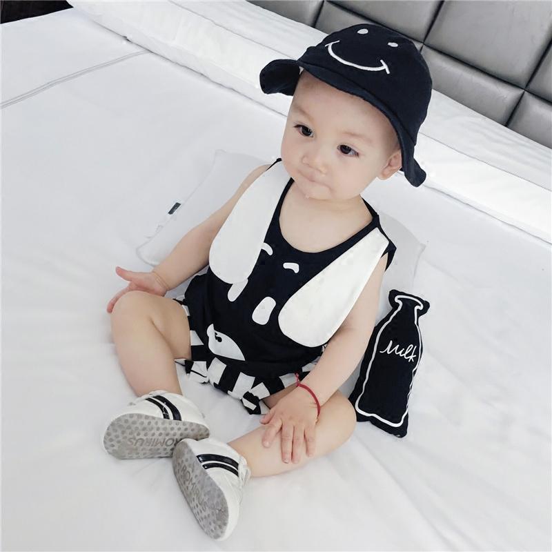婴儿衣服夏装新生儿套装纯棉条纹短袖两件套男小童宝宝外出服 发货周期:一般在付款后2-90天左右发货,具体发货时间请以与客服协商的时间为准