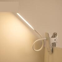 【支持礼品卡】led充电式小台灯护眼书桌大学生阅读夹子灯现代简约卧室床头n6s