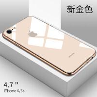 苹果8plus手机壳7plus新款6plus钢化玻璃壳6splus全包防摔套6s潮牌7p男女款iph