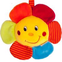 多功能花朵八音拉铃两款车挂床挂安抚玩具花朵拉铃 不需要电池 花朵拉铃