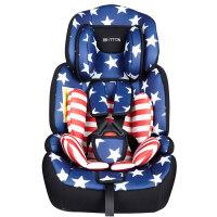 儿童安全座椅汽车用婴儿宝宝车载简易9个月-12岁便携0-4档