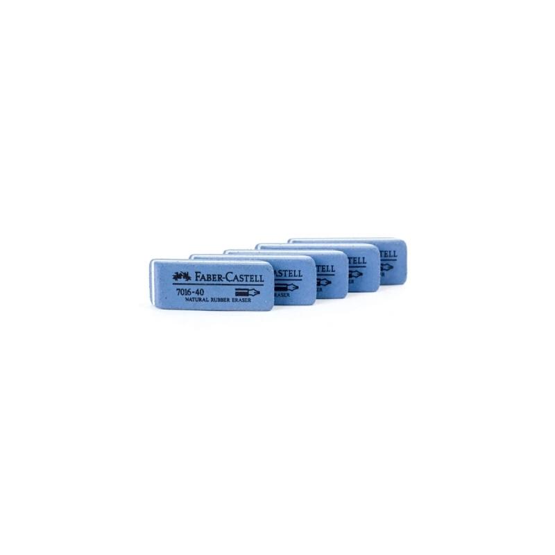 FABER-CASTELL/辉柏嘉7016-40磨砂橡皮擦 可擦钢笔水笔沙橡皮