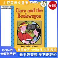 #原版英文童书 Clara and the Bookwagon 克拉拉和装书的马车 [4-8岁]