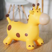 ?巴比精灵环保儿童玩具跳跳马坐骑充气跳跳鹿加大加厚