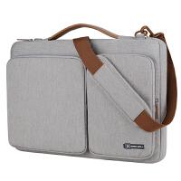 电脑包女手提小米电脑包平板电脑包笔记本包手提袋男14寸15.6寸