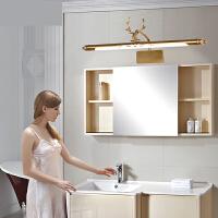 卫生间镜前灯led镜灯美式浴室灯欧式梳妆台灯镜柜化妆灯洗手间灯n8s