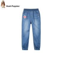 【2件5折:135元】暇步士童装夏季新款男童长裤时尚简约舒适单层牛仔长裤儿童牛仔裤