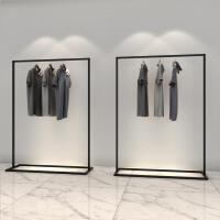 铁艺简易服装架男女服装店展示架挂衣架子童装落地式侧挂衣服货架 其他