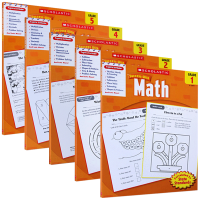 华研原版 美国小学一至五年级 1-5学乐数学练习册 Scholastic Success with Math 英文原版