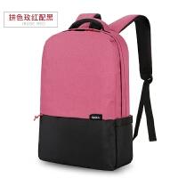 双肩电脑包笔记本电脑包女15.6寸联想14寸小米男戴尔苹果华硕双肩包