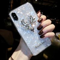 水钻苹果X手机壳女iPhone8plus全包防摔7p硅胶个性创意6s韩国 iPhone X