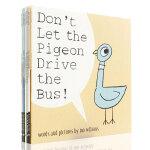 英文原版绘本 don't let the pigeon drive the bus 别让鸽子开巴士系列 六册合售 Mo
