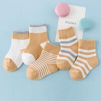 婴儿袜子秋冬男女童儿童中筒袜春秋季松口不勒脚新生儿宝宝袜