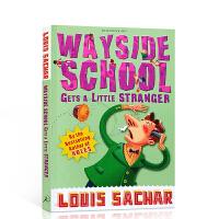 【全店300减100】英文原版 歪歪路小学 Wayside School Gets a Little Stranger