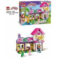 启蒙新品启蒙城市别墅积木5-8岁女孩拼装玩具公主屋拼插城堡模型新