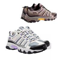 美国FILA斐乐 网面透气轻便减震软底休闲舒适登山鞋 男女同款情侣运动鞋跑步鞋 两色可选 海外购