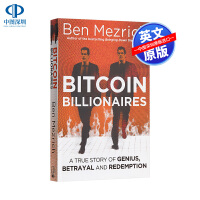 英文原版 比特币亿万富豪 Bitcoin Billionaires: Genius, Betrayal and Rede