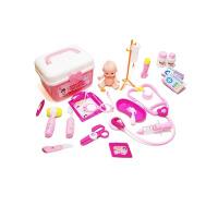 医生玩具套装女孩小猪医院打针护士过家家佩琪宝宝听诊器