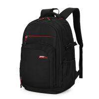 双肩包男士休闲背包初中高中学生书包大学男生旅行背包潮