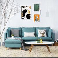 布艺沙发客厅整装北欧沙发现代家具小户型布沙发 o1m