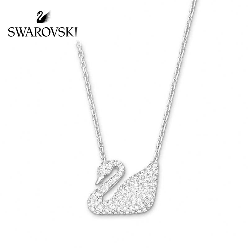 SWAROVSKI/施华洛世奇 经典天鹅链坠锁骨链水晶般质感项链 5007735正品保障(可使用礼品卡)